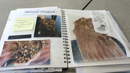 Studying Yorkshire Artist