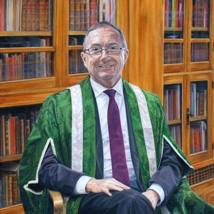 5. Portrait of Professor Michael Arthur