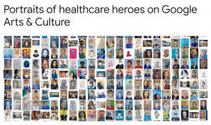 Portrait painter Yorkshire in Portraits of healthcare heroes