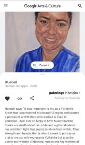 Portrait Painter Hannah Ostapjuk